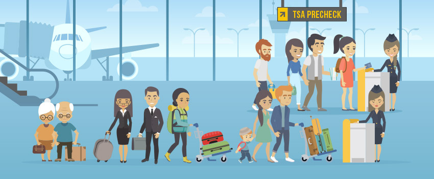 Airport, security check, long lines - ASAPtickets travel guide
