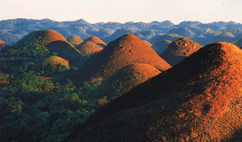 Chocolate mountains, Philippines - Fun Things To Do in The Philippines