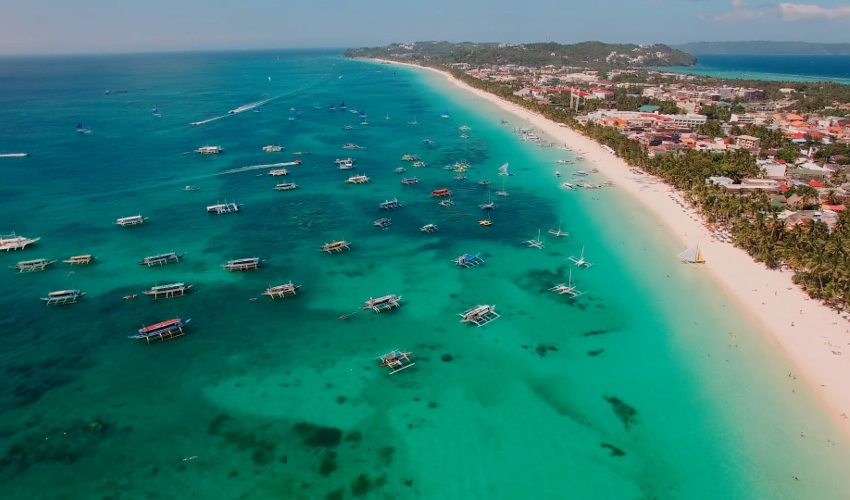 BORACAY beach in philippines - Fun Things To Do in The Philippines