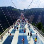 Glass Bridge, Zhangjiajie National Forest Park - 12 Breathtaking Places to Spend Your Birthday Vacation