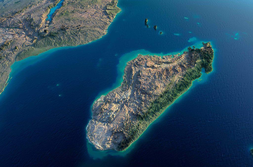 Madagascar Aerial View - Travel to Madagascar