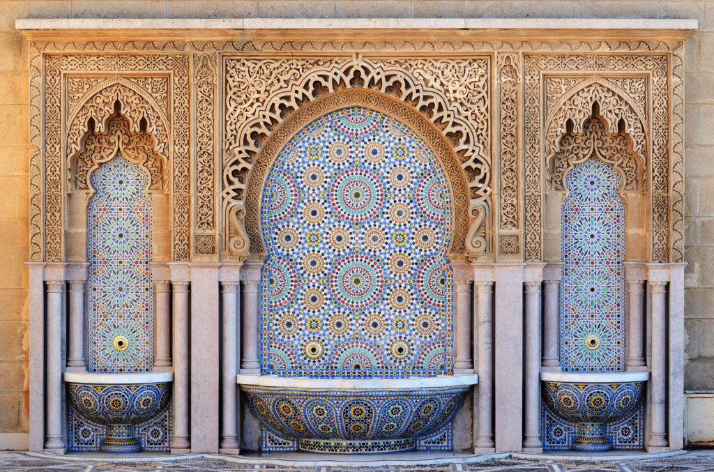 Valentine's Day Vacation Ideas - Moroccan mosaic - ASAP Tickets Travel Blog