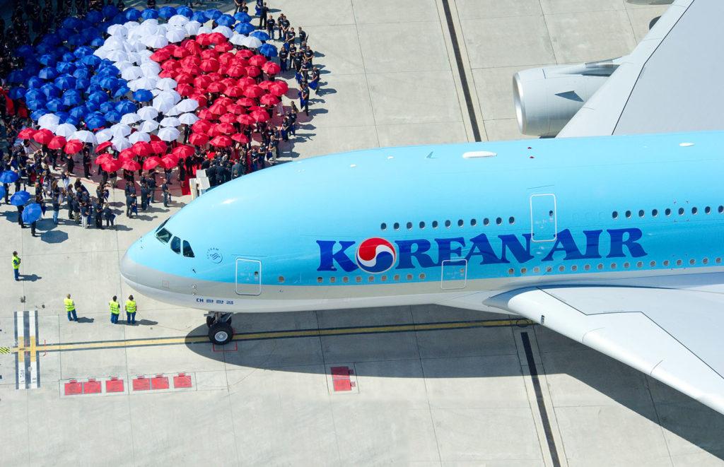 Korean Air aircraft