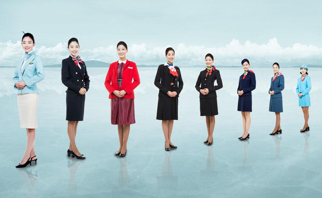 Korean Air cabin crew