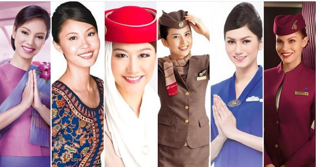 Cabin Crew Uniforms - Flight Attendants - Best Economy Class Airlines