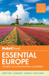Fodor's Essential Europe - 5 Best Travel Guidebooks Europe