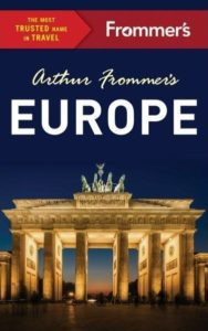 Frommer's Europe - 5 Best Travel Guidebooks Europe