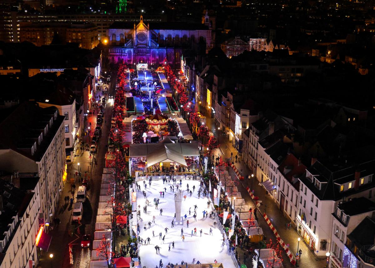 Christmas Markets - Brussels, Belgium