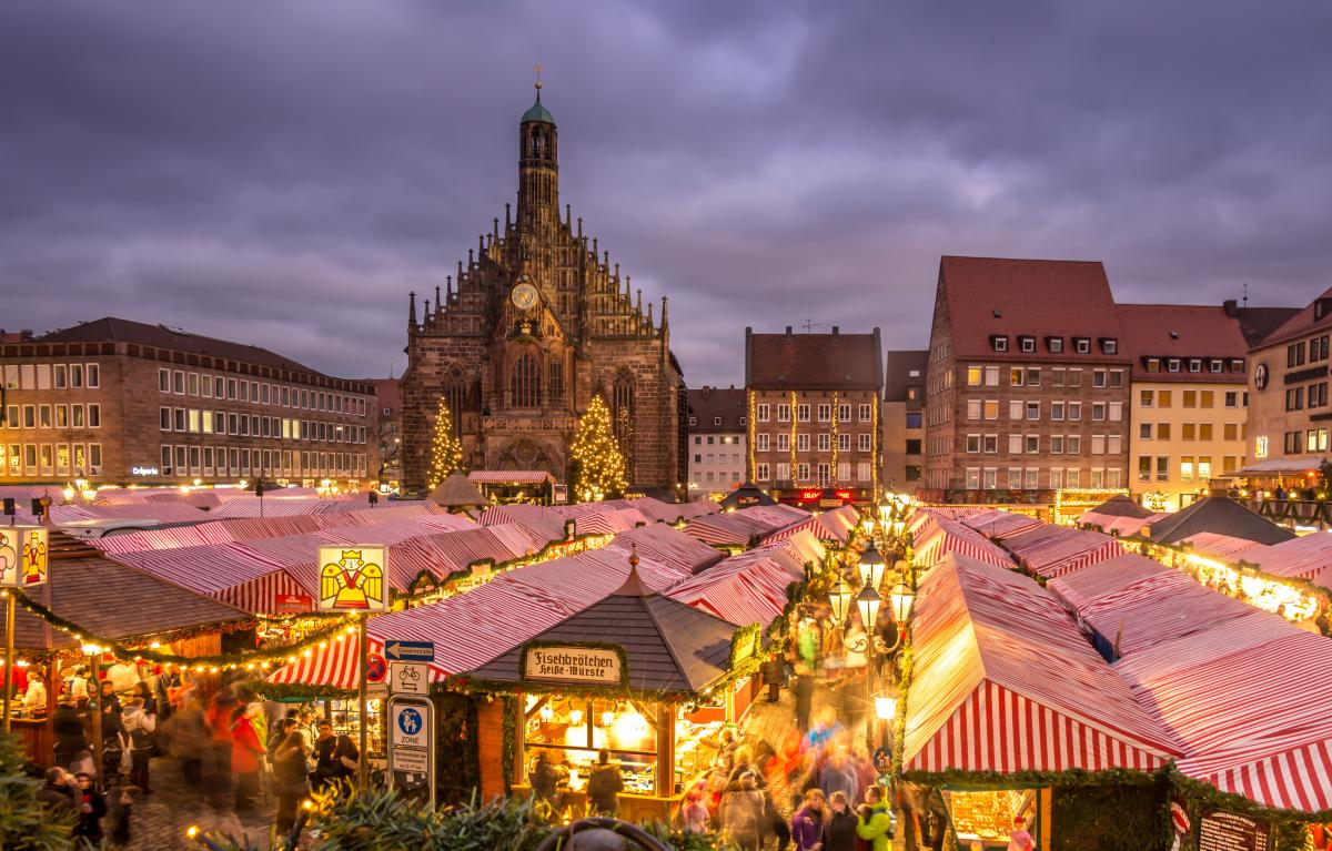 Hauptmarkt, Nuremberg, Germany, Christmas Markets in Europe