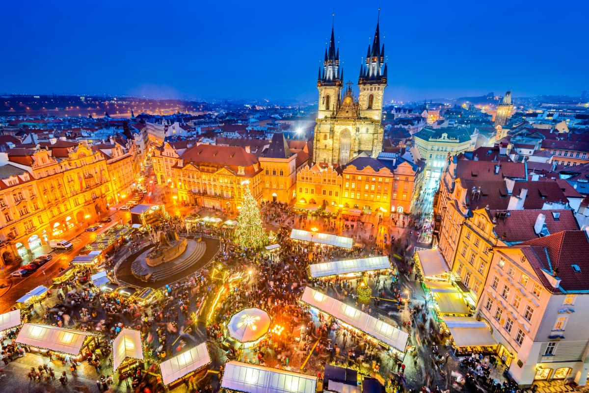 Stare Mesto Square, Prague, Czech Republic, Christmas Markets in Europe