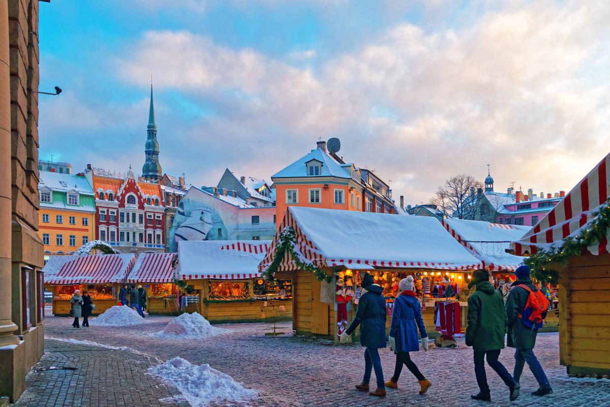Dome Square, Riga, Christmas Markets in Europe - Riga, Latvia