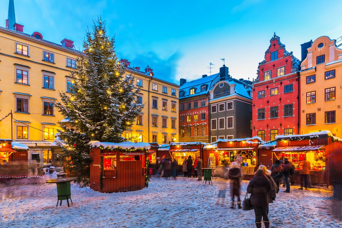Stortorget Square, Stockholm, Sweden, Christmas Markets in Europe