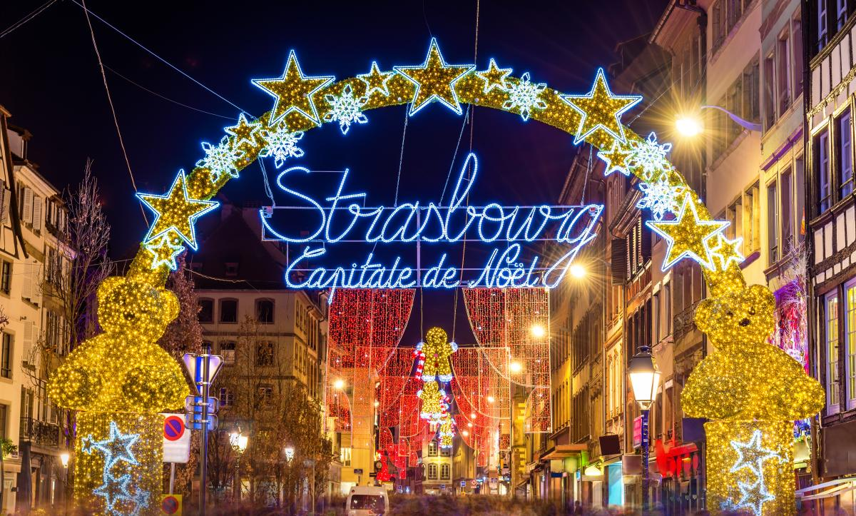 Strasbourg City Center, France, Christmas Markets in Europe
