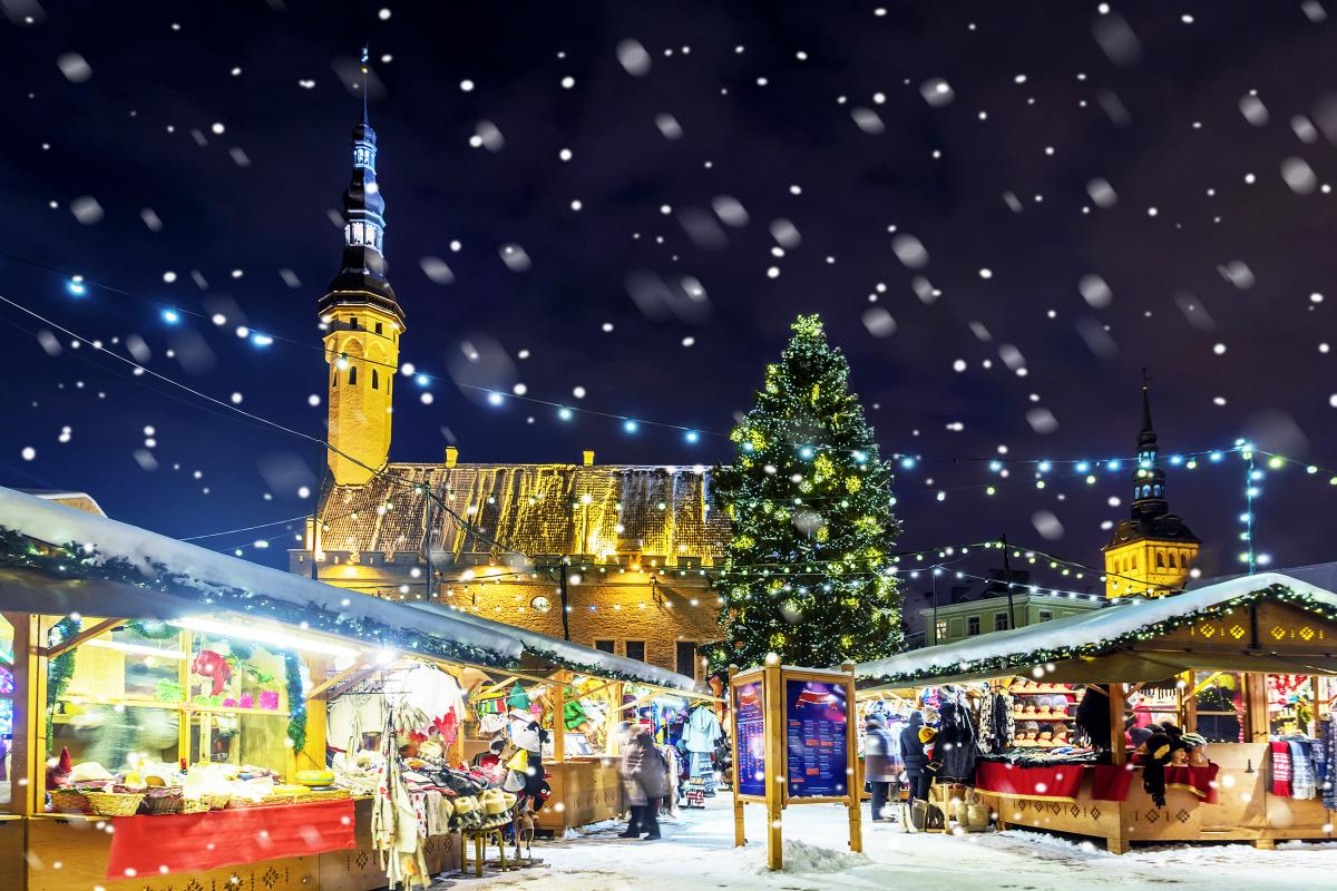 Town Hall Square, Tallinn, Estonia - Christmas Markets in Europe