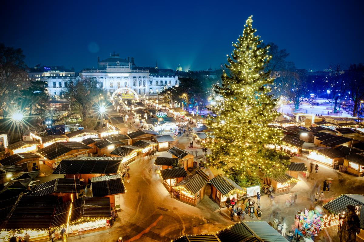 Rathausplatz, Vienna, Austria, Christmas Markets in Europe