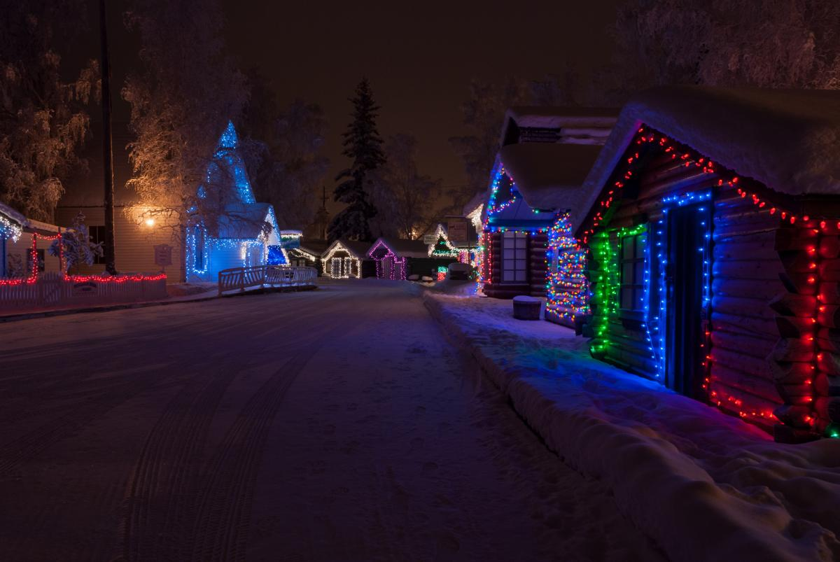 Christmas Destinations - North Pole, Alaska
