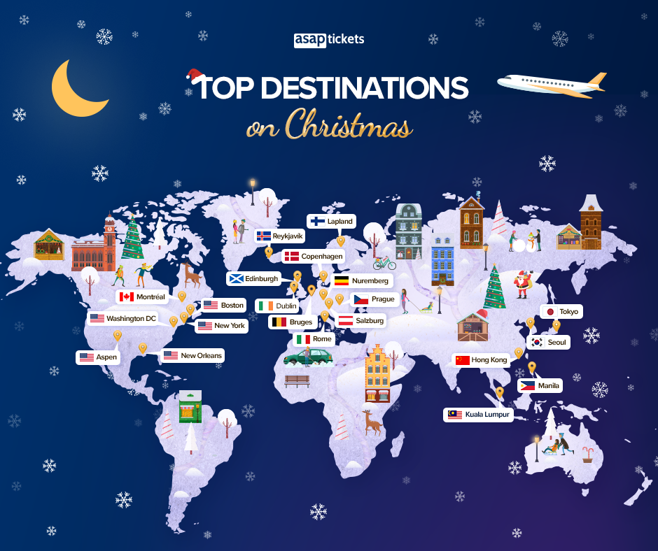 Christmas Facts - Christmas Travel