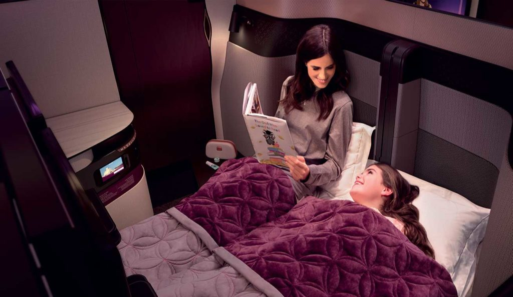 Qatar Airways Qsuites Business Class - Double Suite