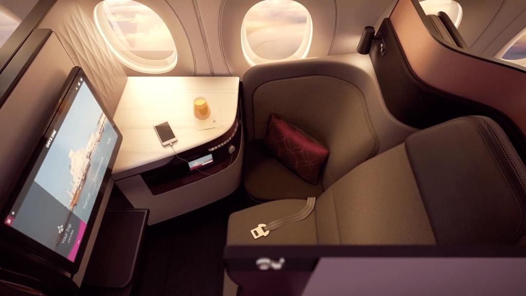 Qatar Airways Qsuites Business Class