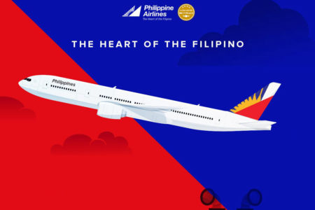 Philippine Airlines to Manila PAL Infographic