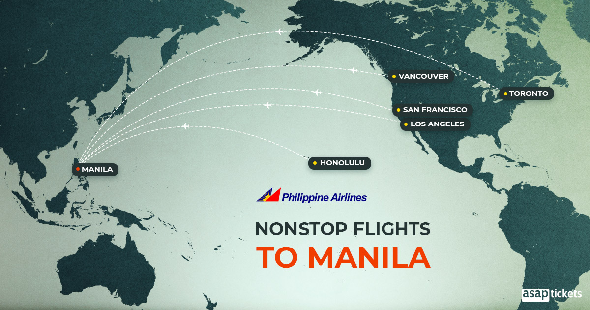 How To Book Flights To Manila - Nonstop Flights to Manila