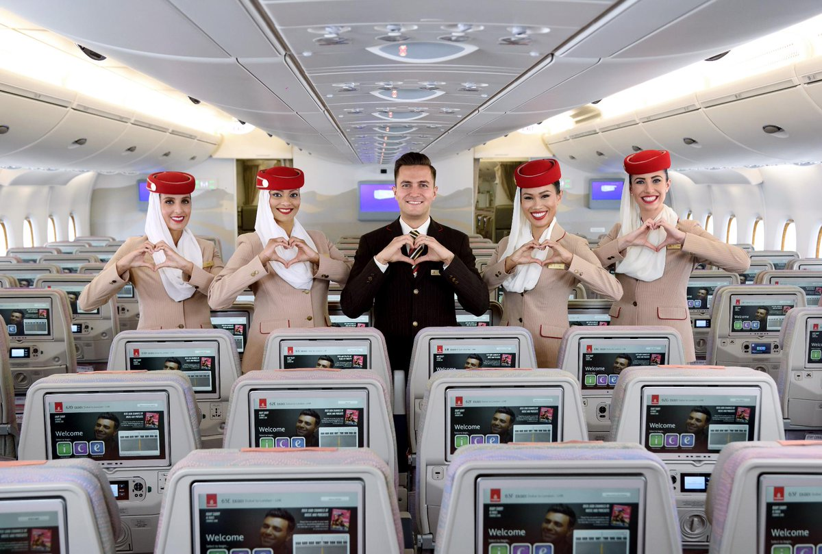 Emirates says thank you for their Skytrax Awards 2018 - World Airline Awards 2018