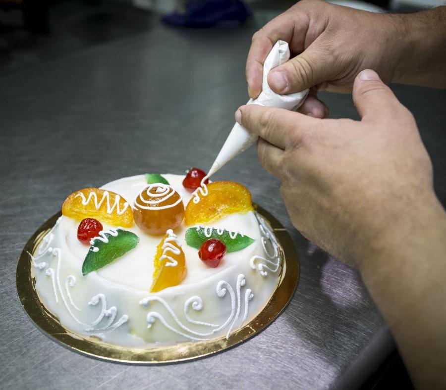 Cassata Cake for Ester Holiday