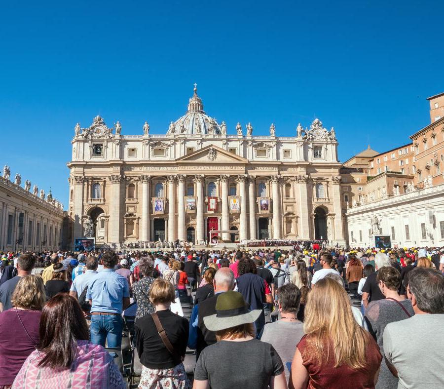 Vatican City Easter Ceremony