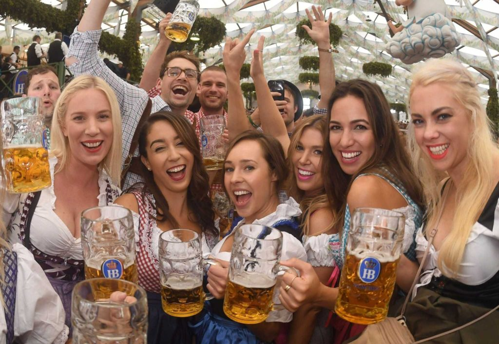 Oktoberfest: Celebration at one of the TOP 5 beer- brewing countries