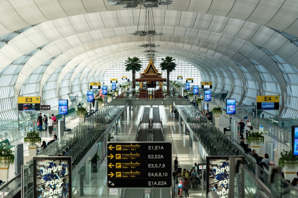 Suvarnabhumi International Airport; cheap flights to Thailand; Bangkok Airways deals; top international airport in Asia