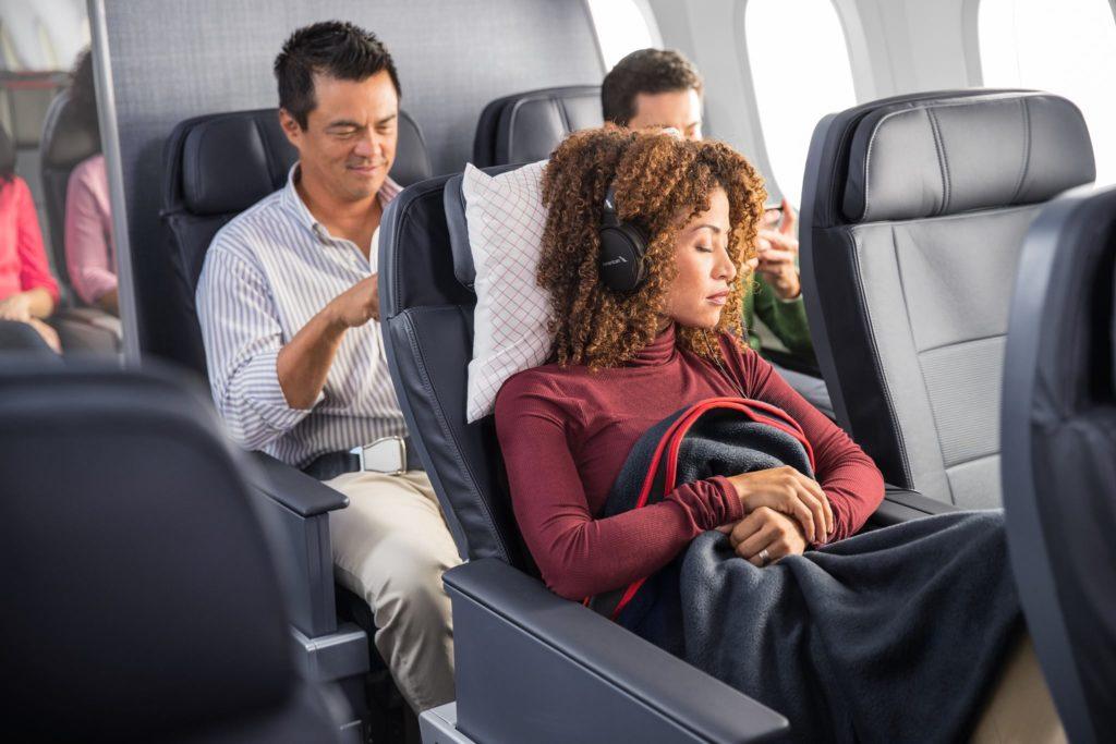 America Airlines Premium Economy Class