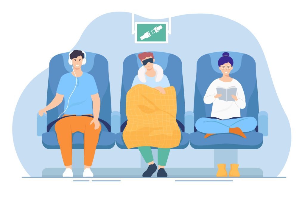 How to sleep on a plane, how best to sleep on a plane, top 5 tips for sleeping on a plane, best position for sleeping on a plane